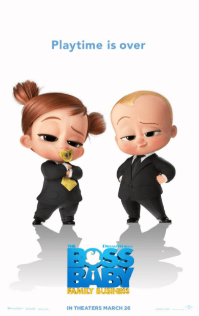 BOSS BABY 2 (THE) / THE BOSS BABY 2 FAMILY BUSINESS HD GOOGLE PLAY DIGITAL COPY MOVIE CODE ONLY (DIRECT IN TO GOOGLE PLAY) CANADA