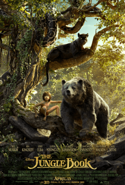 JUNGLE BOOK 2016 (THE) DISNEY HD GOOGLE PLAY DIGITAL COPY MOVIE CODE (DIRECT IN TO GOOGLE PLAY) USA
