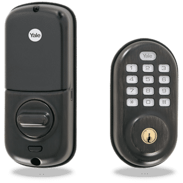 Yale Push Button Deadbolt Lock (YRLD 210)