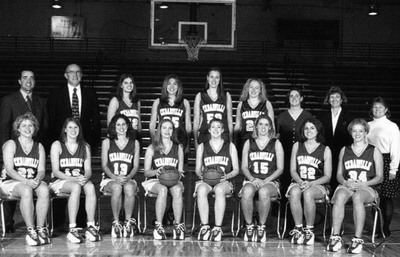 """1999-2000 Women's Basketball Team"" by Cedarville College"