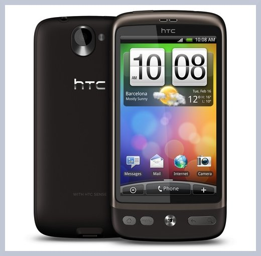 HTC Desire Android Apps Install SD