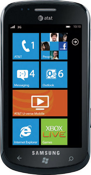 Samsung Focus Review Windows 7 phone