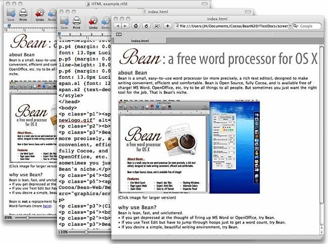 Bean While Using HTML