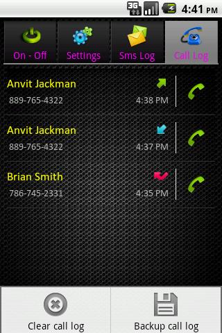 Hide Texts & Call Logs App for Android