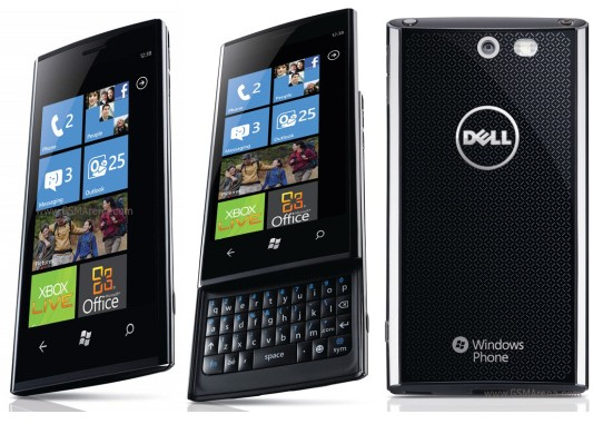 Dell venue Pro Windows Phone 7 Device