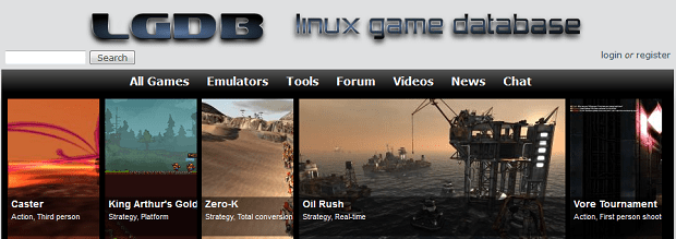 Linux Games Database