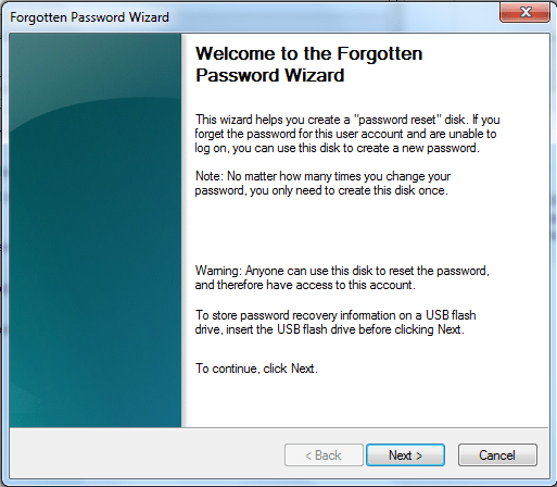 Windows Password Reset -2