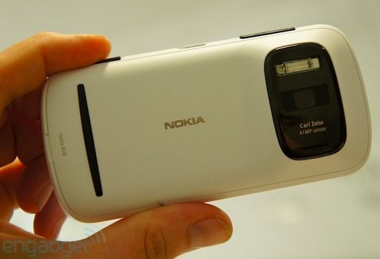 Nokia 808 PureView Camera Lens