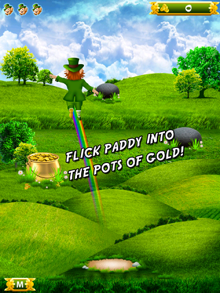 Leapin' Leprechaun iPhone/iPad Game