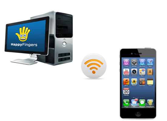 SMS PC Happy Fingers Windows App For iPhone Review – For Stress Free