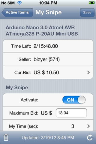 iPhone App Review Mybidder Auction