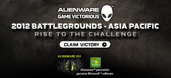 Alienware Gaming Contest India 2012