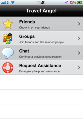 Travel Angel iIPhone App Review