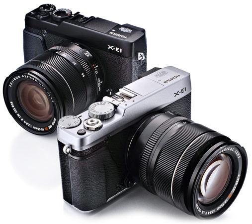 Fujifilm X-E1 &  XF1