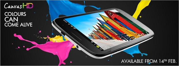 Micromax A 116 Canvas HD Smartphone