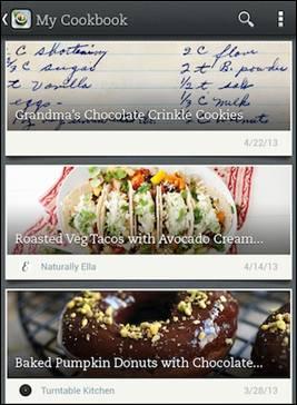 Evernote Food - 1