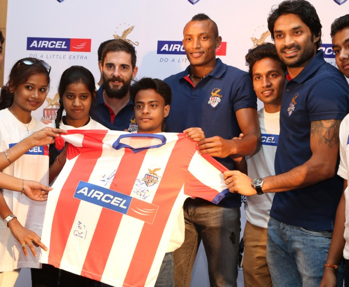 Atletico De Kolkata players