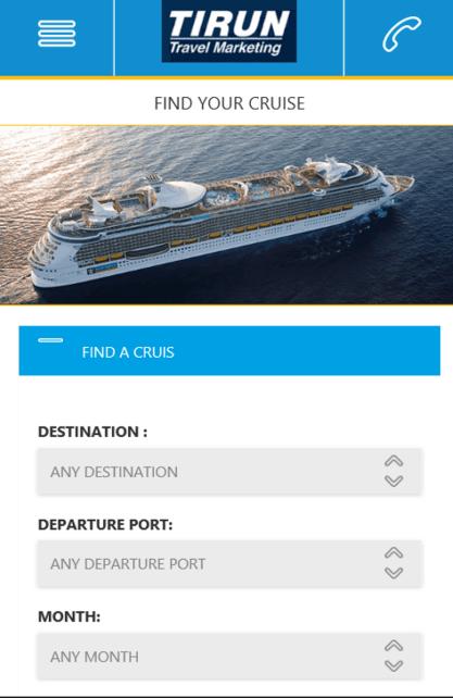 Tirun mobile site screenshot4