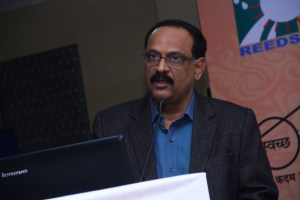 Dr.  Ravi K Reddy, Secretary, REEDS, India at SKILLS2015