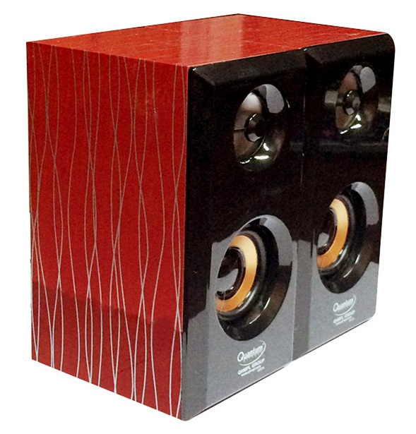 QHM630-USB-Mini-Speaker red