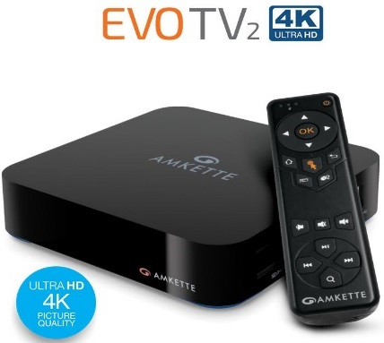 Image result for Amkette EVOTV2 4K Ultra HD entertainment box