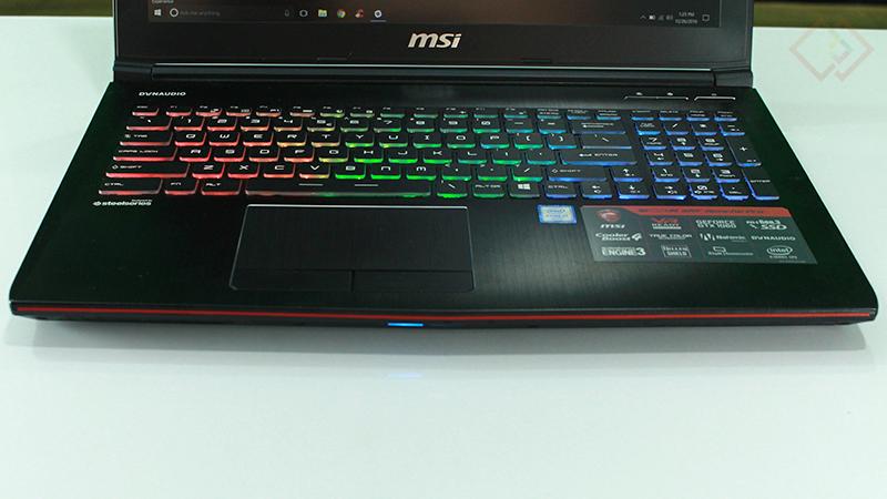 MSI ge62vr 6rf keyboard