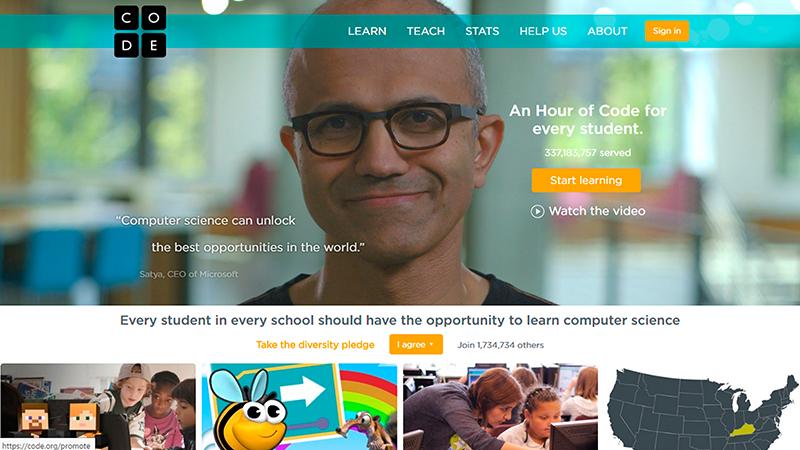 Code.Org - Coding Educational Website for Kids