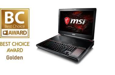 MSI wins 5 best choice awards at Computex 2017