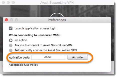 avast secureline not connecting