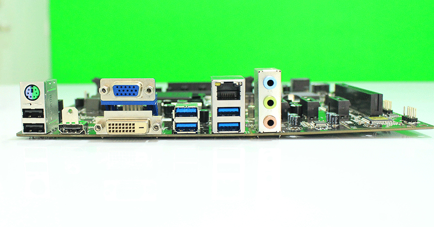 ECSB250H4-M8 motherboard ports