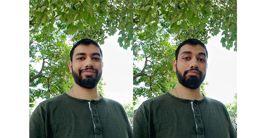 zenfone 4 selfie pro front camera images