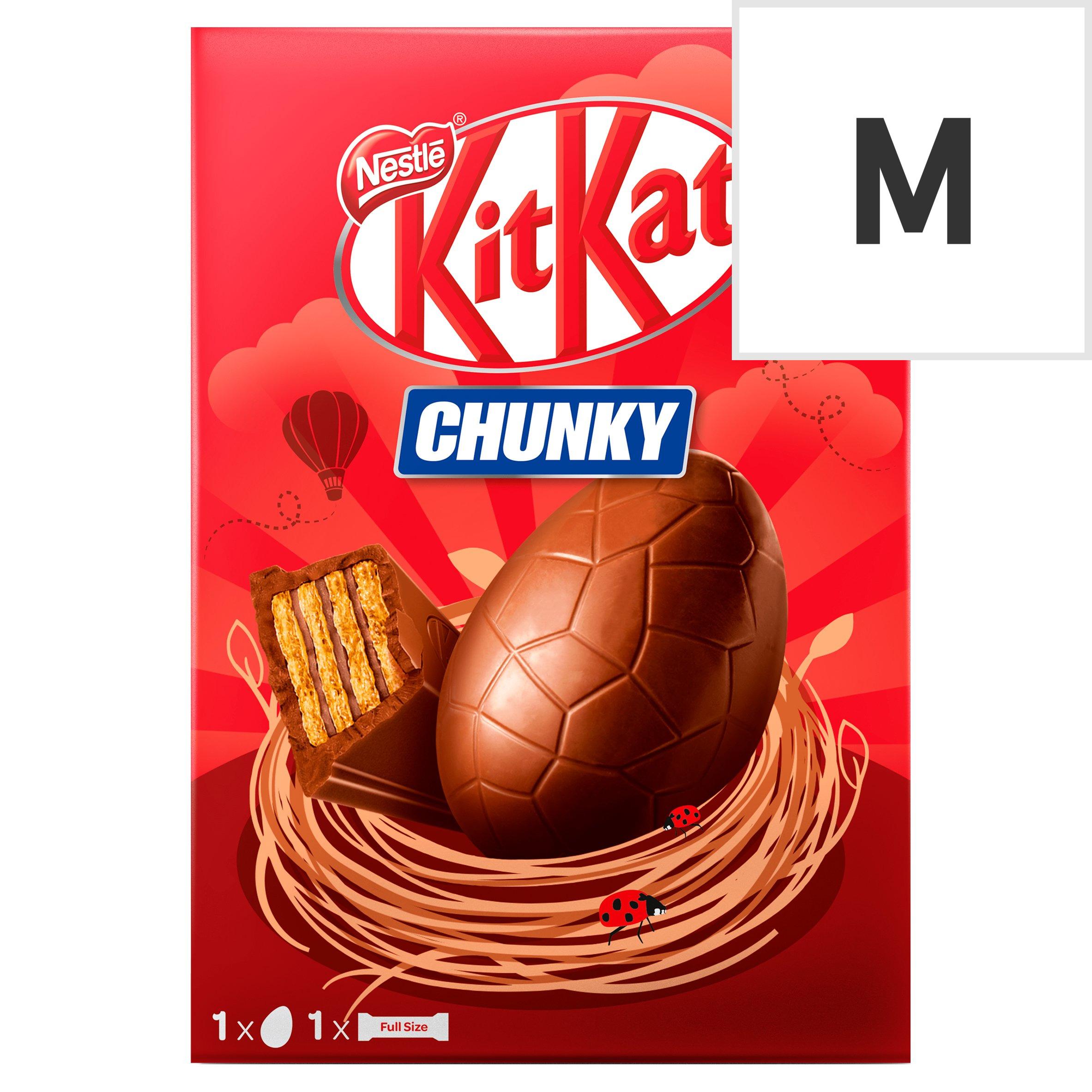 image 1 of Kit Kat Chunky Milk Chocolate Easter Egg 129G