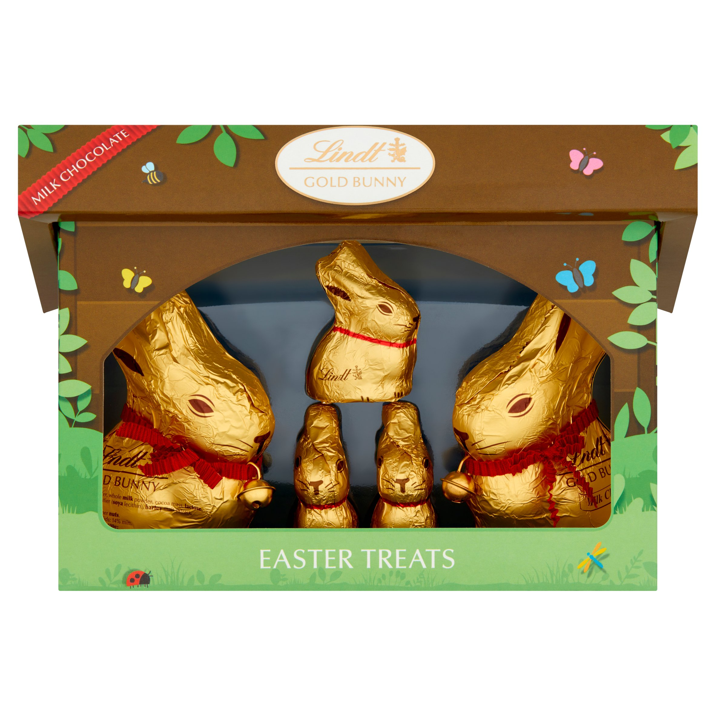 image 1 of Lindt Gold Bunny And Family Hutch 130G