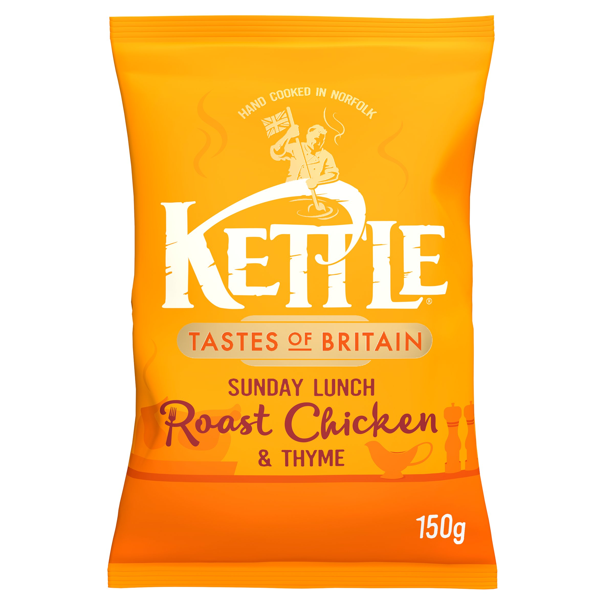 Kettle Chips Roast Chicken & Thyme 150G
