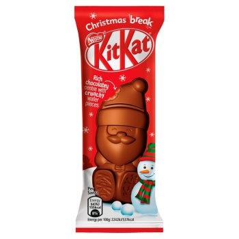 Kit Kat Milk Chocolate Santa 29G