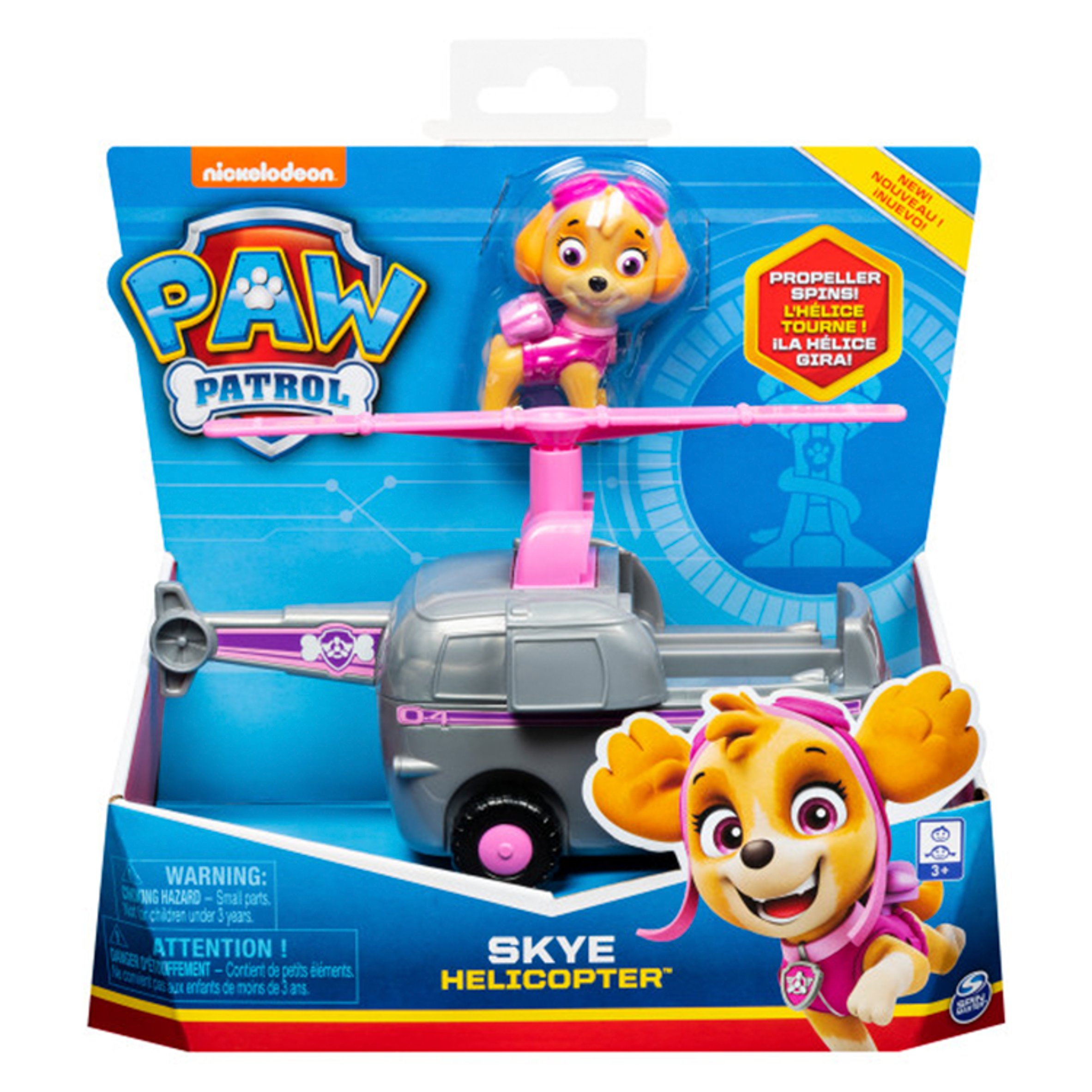 Paw Patrol Vehicle Skye Solid Tesco Groceries