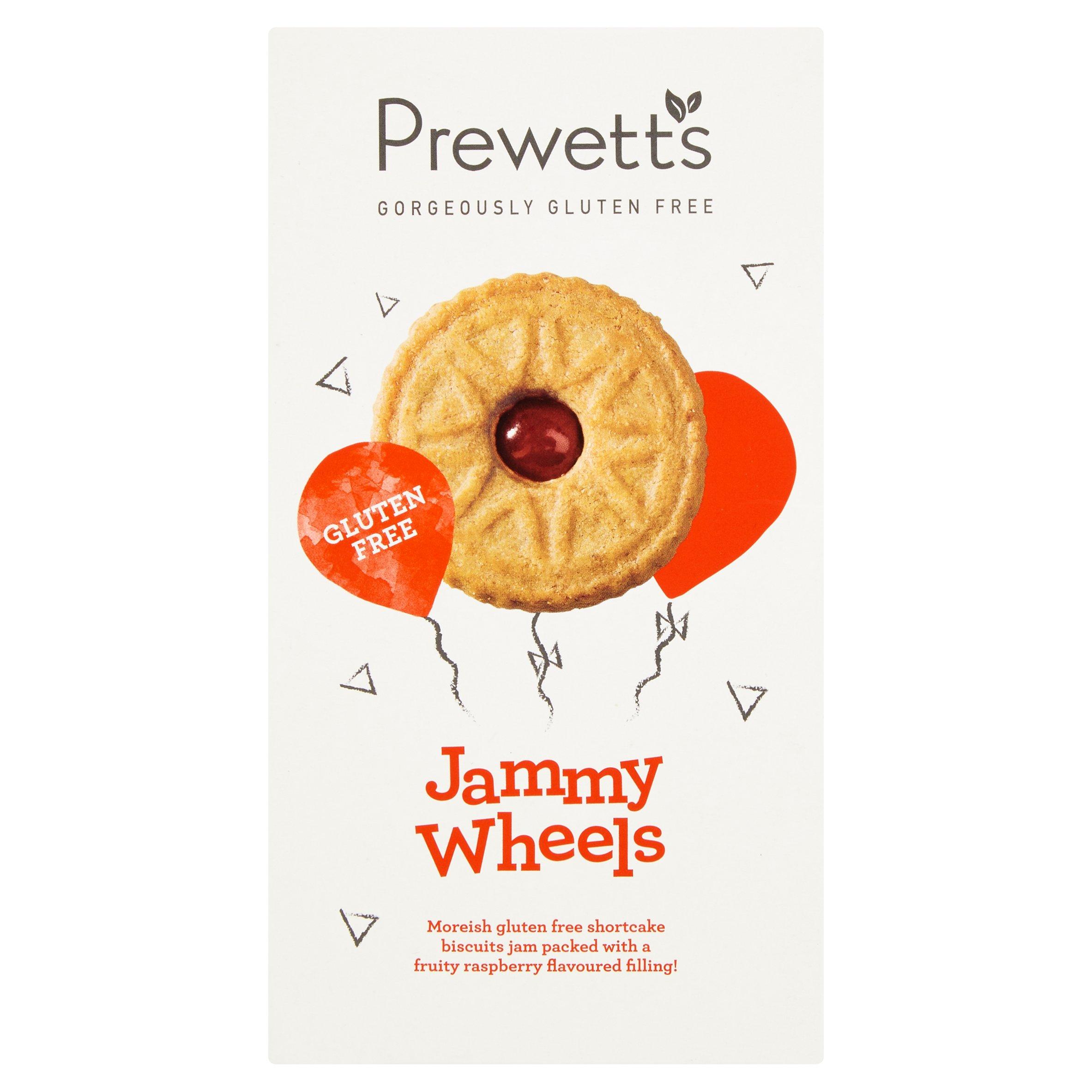 Prewetts Gluten Free Jammy Wheel 160G