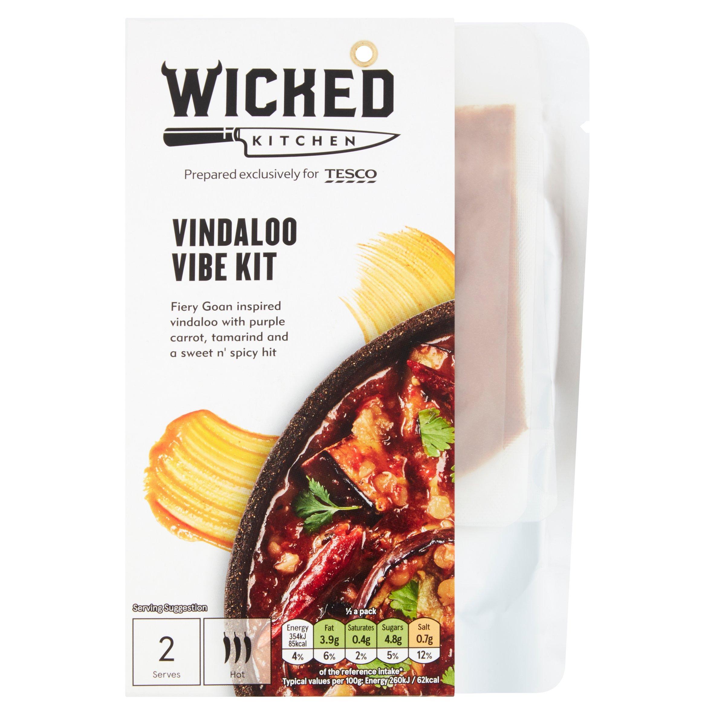 Wicked Kitchen Vindaloo Vibe Kit 272G