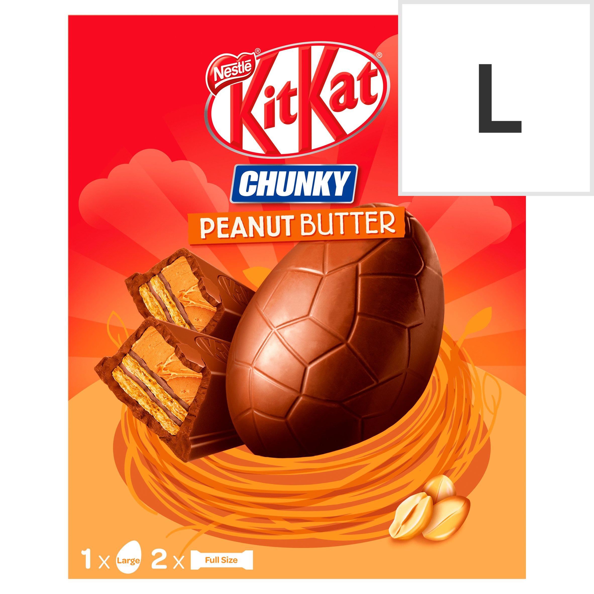 image 1 of Nestle Kit Kat Chunky Peanut Butter Large Egg 264G