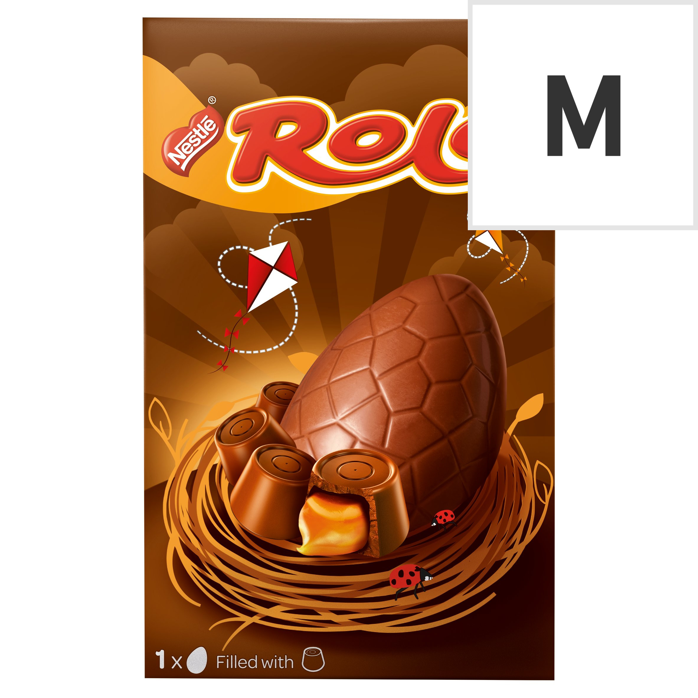image 1 of Rolo Milk Chocolate Easter Egg 128G