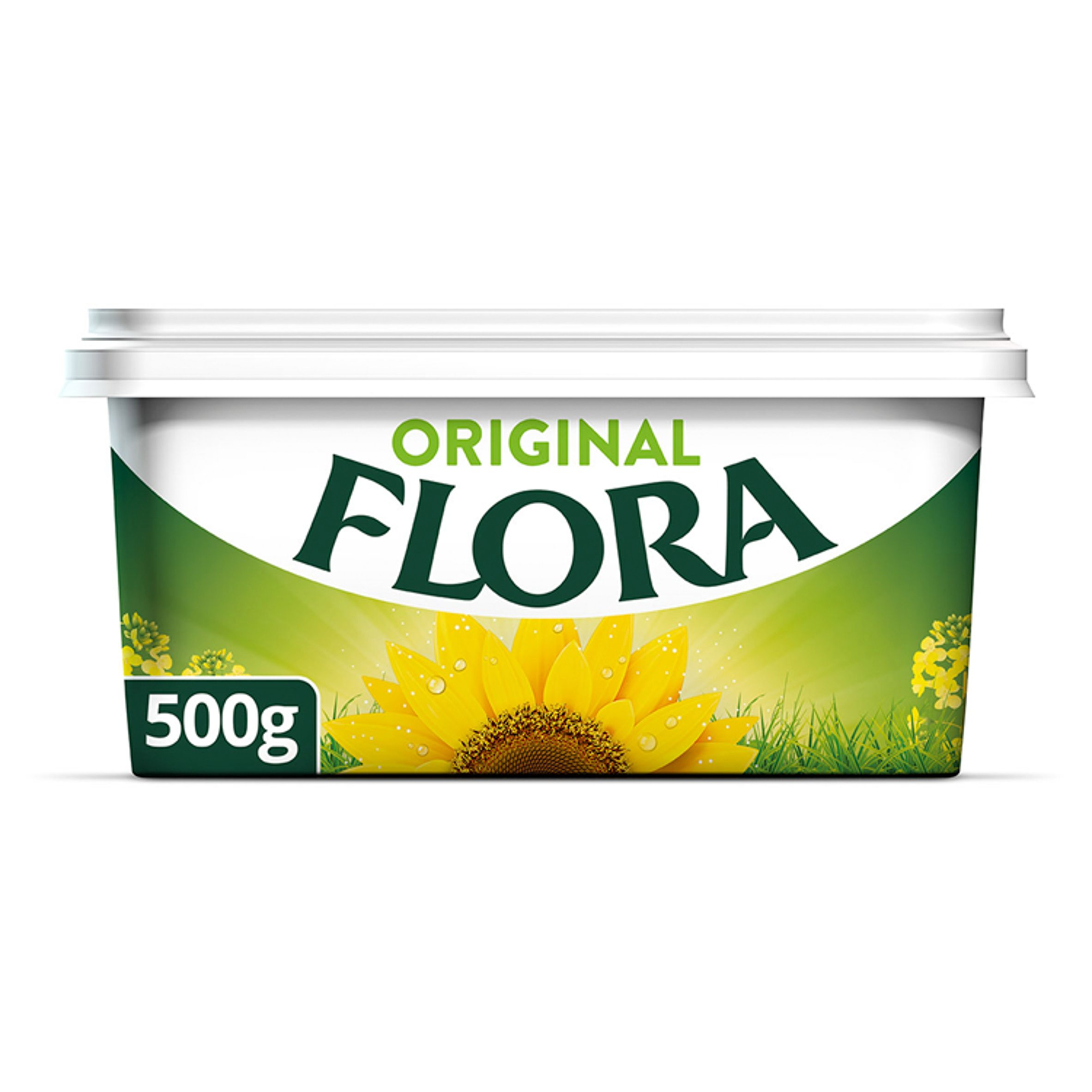 Flora Original Spread 500G - Tesco Groceries