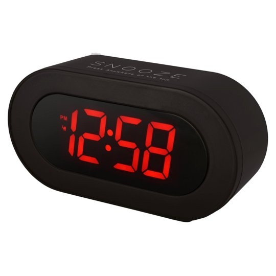Acctim Led Alarm Clock Usb Charging