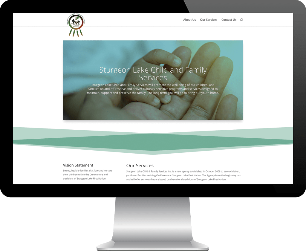 Sturgeon Lake Child and Family Services / Web Designer Portfolio