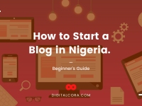 how to start a blog in Nigeria and make money