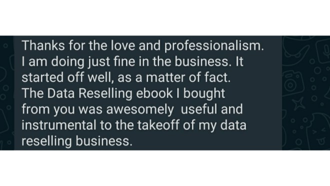 Data reselling eBook pdf
