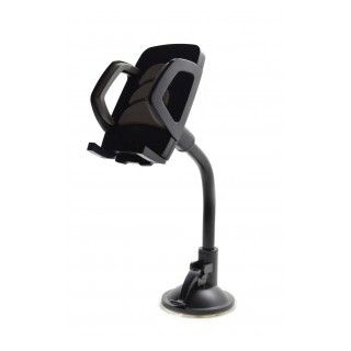 Βάση Στήριξης Αυτοκινήτου Ancus Universal Μαύρη - Γκρί για Smartphone 4'' έως 5.7'' Ίντσες