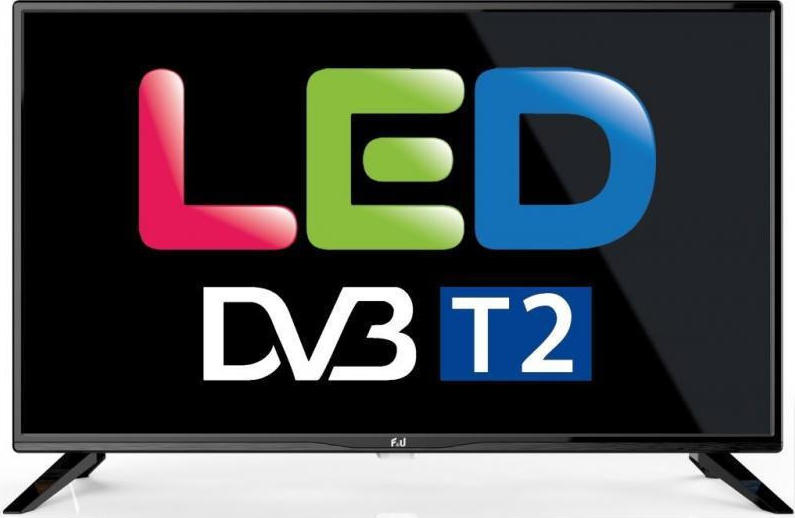 Τηλεόραση F&U 24'' HD Ready TV DVB T2 FL24108