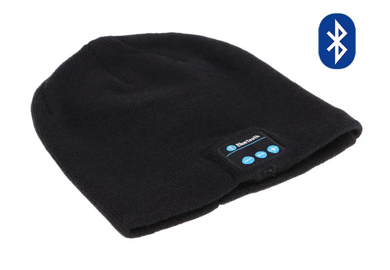 Σκούφος Classic με bluetooth ενσωματωμένα ακουστικά, Black