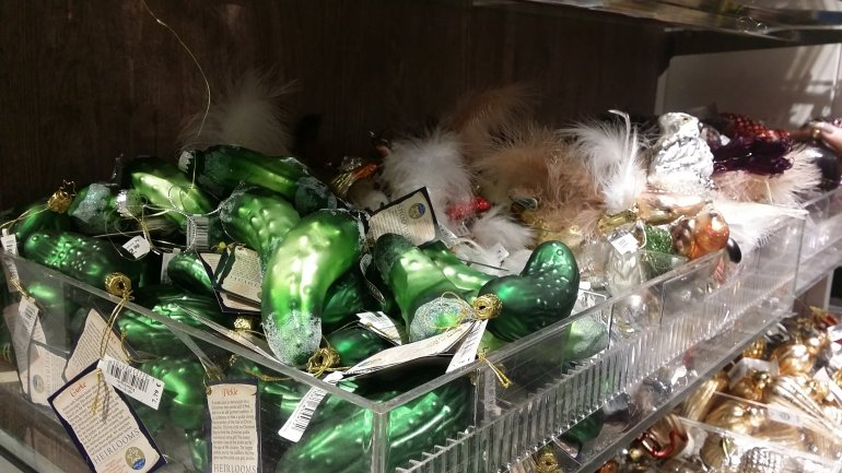 questionable german christmas pickle weihnachtsgurke