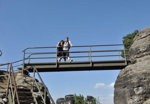 Couple Picture at the Felsenburg Neurathen